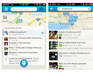 "Foursquare Discovers What's Nearby, and Kmart's Latest Ad Will Make You ""Ship Your Pants"" image new foursquare screenshots"