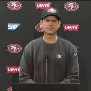 San Francisco 49ers head coach Jim Harbaugh's favorite Christmas gift