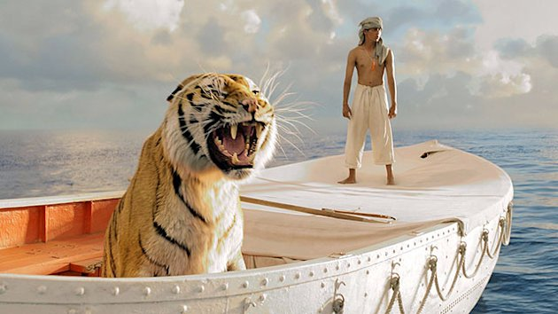 First Look: &#39;Life of Pi&#39; Sets Sail