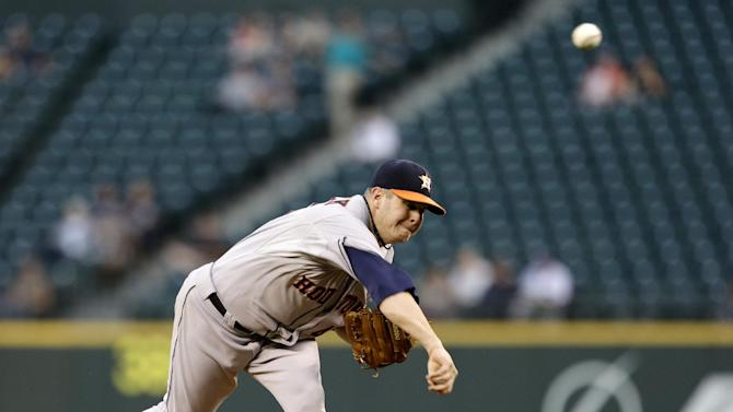 Astros complete sweep of Mariners with 6-1 win