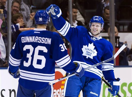 Maple Leafs end 11-game home losing streak