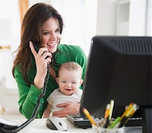 Working moms: Healthier at age 40 than stay-at-home moms