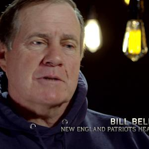 NFL Media's Melissa Stark's one-on-one with New England head coach Bill Belichick
