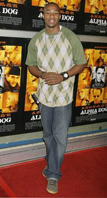 Arlen Escarpeta at the Hollywood premiere of Universal Pictures' Alpha Dog
