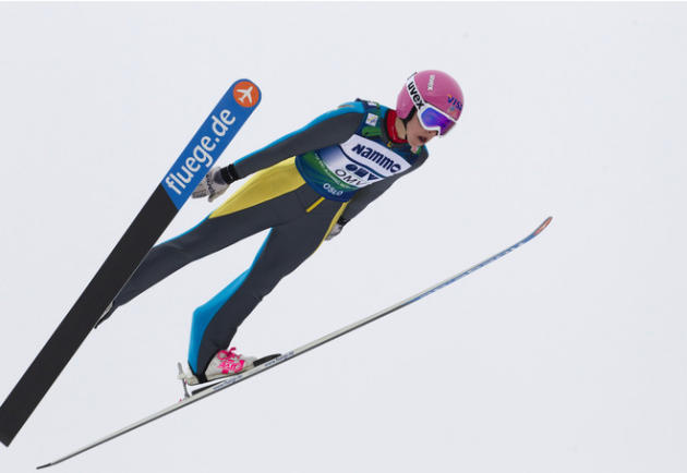 US Sarah Hendrickson Competes AFP/Getty Images