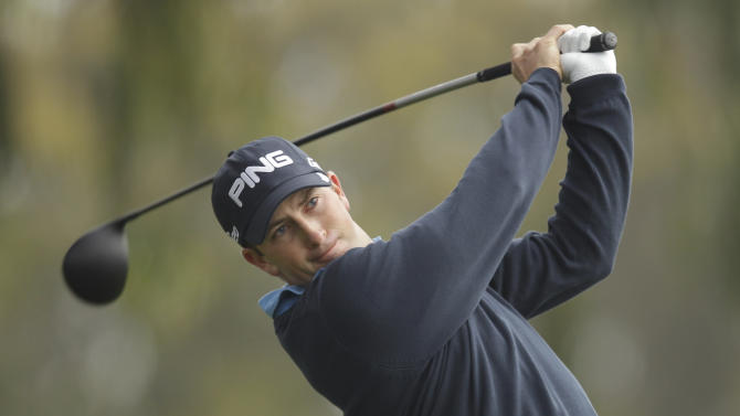 Michael Thompson hits a drive on the second hole during the first round of the U.S. Open Championship golf tournament Thursday, June 14, 2012, at The Olympic Club in San Francisco. (AP Photo/Ben Margot)