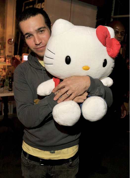 Pete Wentz Hello Kitty