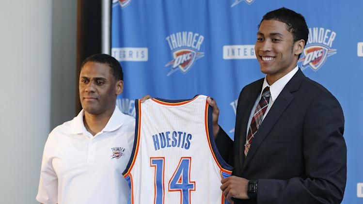 The NBPA is OK with Thunder's Josh Huestis becoming 1st domesti…