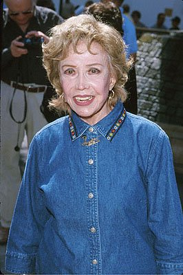 June Foray , the voice of Rocket J. Squirrel at the Universal City premiere of Universal's The Adventures of Rocky and Bullwinkle