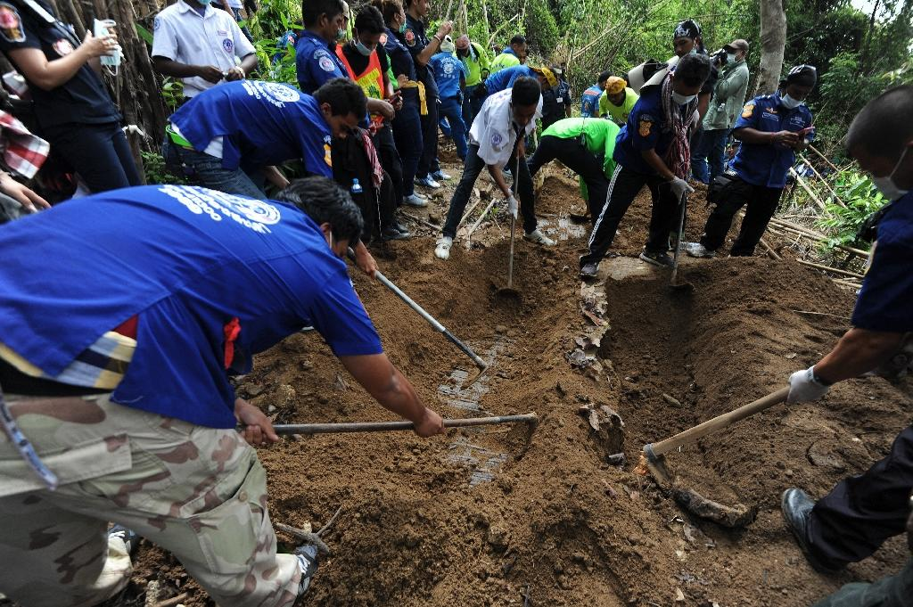 Mass graves of suspected migrants found in Malaysia
