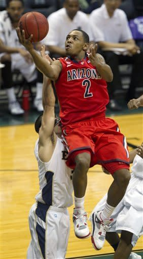 Arizona has little trouble in 73-53 win