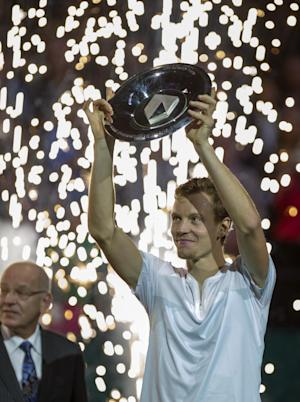 Berdych wins ABN Amro tournament