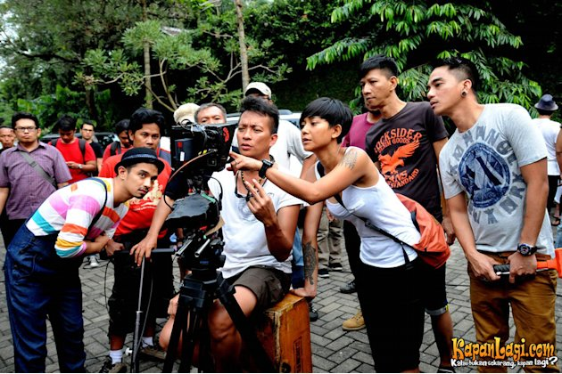 Ungu Syuting Video Klip
