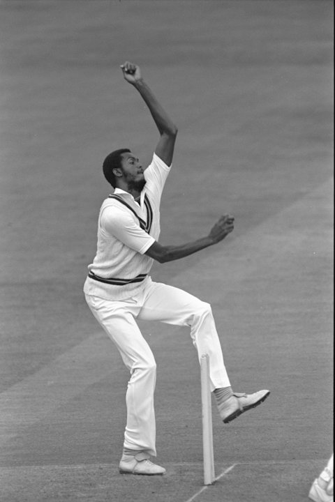Courtney Walsh of the West Indies
