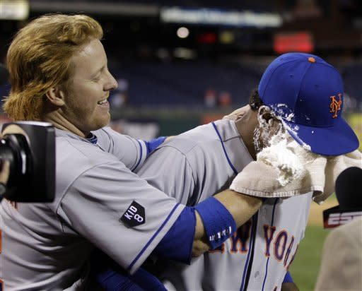 Valdespin's first career hit leads Mets over Phils