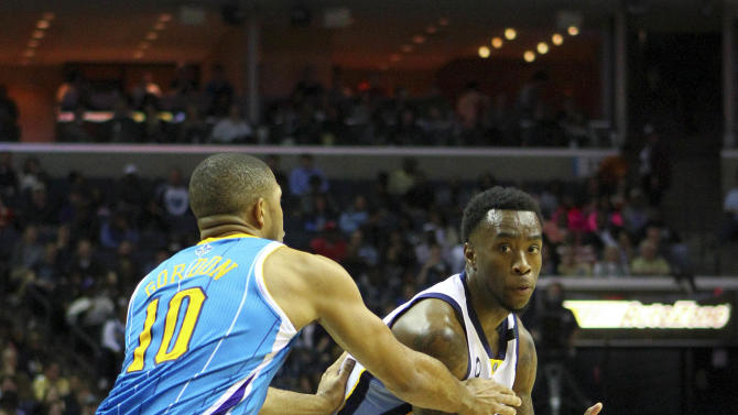 NBA: New Orleans Hornets at Memphis Grizzlies
