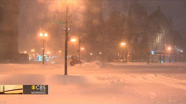 Eye Opener: Monster blizzard paralyzes Northeast