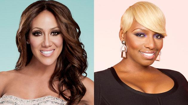 Melissa Gorga and NeNe Leakes