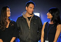 Cote de Pablo, Michael Weatherly, Perrey Reeves | Photo Credits: Ron P. Jaffe/CBS