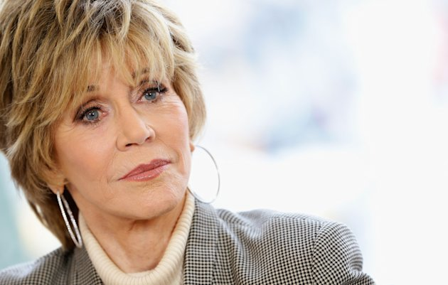 BERLIN, GERMANY - FEBRUARY 08:  Actress Jane Fonda visits the L'Oreal Make Up Studio during the 63rd Berlinale International Film Festival on February 8, 2013 in Berlin, Germany.  (Photo by Vittorio Zunino Celotto/Getty Images for L'Oreal Paris)