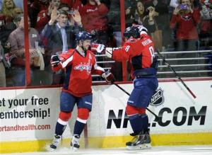 Capitals win shootout, defeat Islanders 2-1