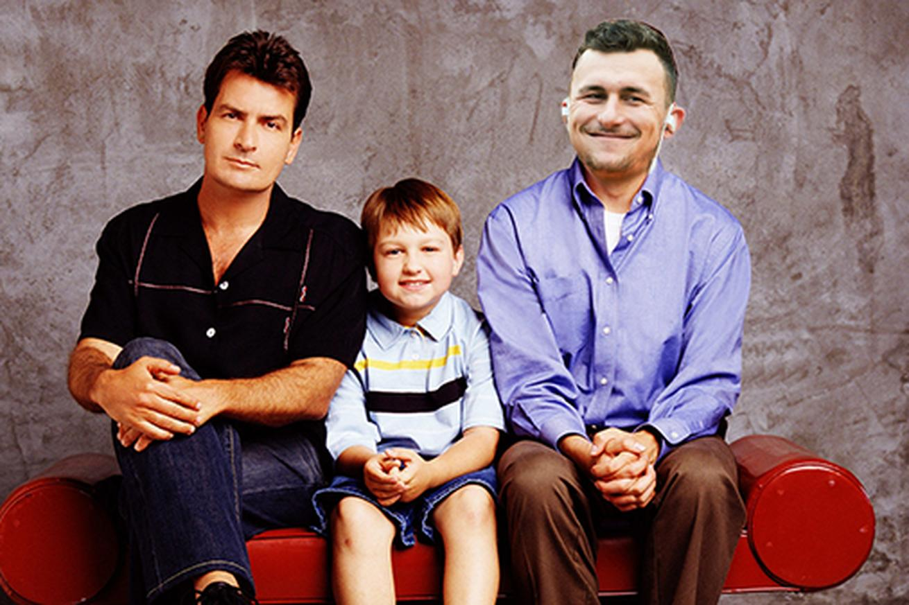 Charlie Sheen is giving Johnny Manziel life advice