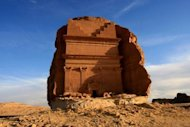 File photo taken in 2007 shows part of Al-Hijr, also known as Madain Saleh, in Saudi Arabia. Described as the largest site of the Nabataean civilisation south of Petra in Jordan, Madain Saleh is the first Saudi archaeological site to be inscribed on UNESCO's World Heritage List