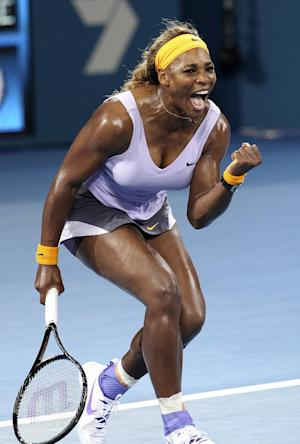 Williams wins title in Brisbane, Venus loses final