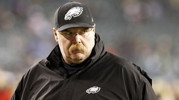 Former Philadelphia Eagles head coach Andy Reid