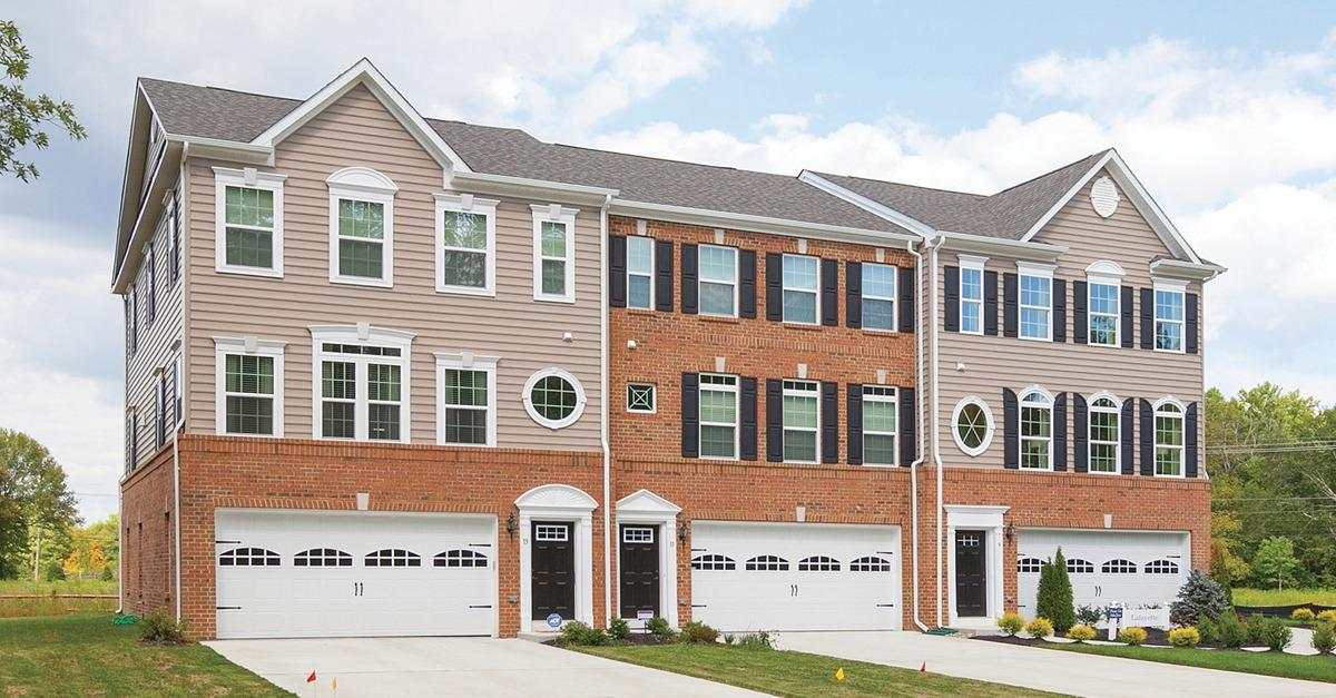 Beechtree's highly sought-after townhome location!