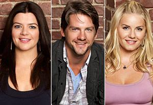 Casey Wilson, Zachary Knighton, Elisha Cuthbert | Photo Credits: Craig Sjodin/ABC