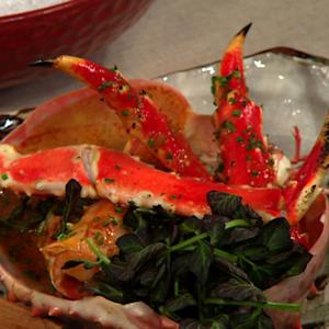 Chef Ralph Scamardella's Asian seafood assortment on THE Dish