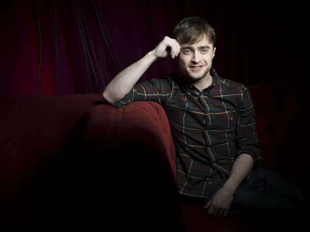 Daniel Radcliffe from the film &quot;Kill Your Darlings,&quot; poses for a portrait during the 2013 Sundance Film Festival at the Fender Music Lodge on Saturday, Jan. 19, 2013 in Park City, Utah. (Photo by Victoria Will/Invision/AP Images)