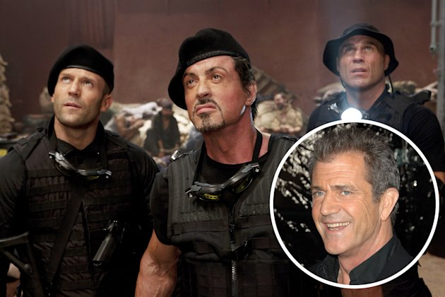 Mel Gibson 'Expendables' character revealed! (Photo: Everett Collection)