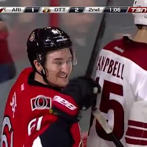 Mark Stone Goal on Mike Smith (18:54/2nd)