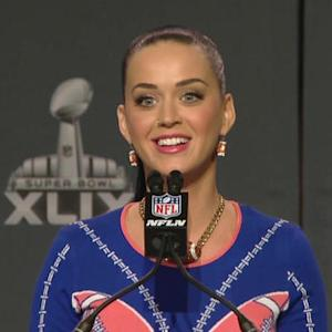 Katy Perry: 'I love the Seattle Seahawks because of Russell Wilson'