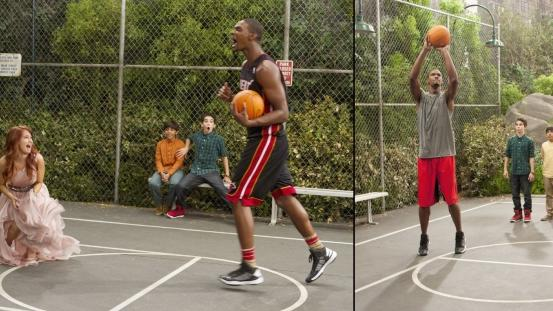 Chris Bosh guest stars on The Disney Channel's 'Jessie' on the episode airing January 18, 2013 -- Disney Channel