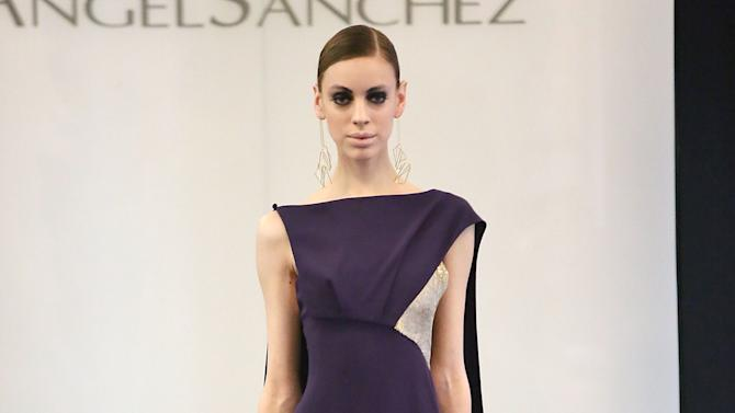 Angel Sanchez - Presentation - Fall 2013 Mercedes-Benz Fashion Week