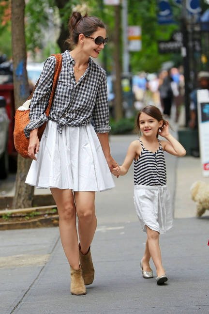 Mini-Me: Katie Holmes and Suri Cruise