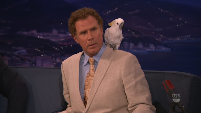 Will Ferrell Doesn't Want To Talk About Professor Feathers