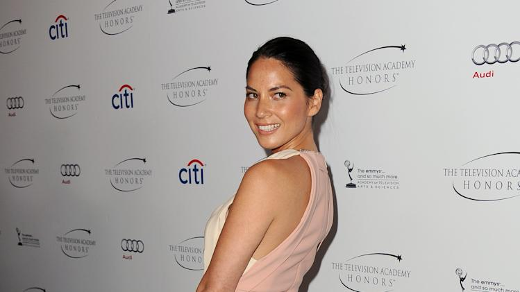 "Olivia Munn arrives at the Academy of Television Arts & Sciences Presents ""The 6th Annual Television Honors"" at the Beverly Hills Hotel on Thursday, May 9, 2013 in Beverly Hills, Calif. (Photo by Scott Kirkland/Invision for Academy of Television Arts & Sciences/AP Images)"