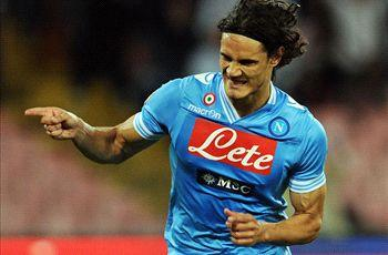 Napoli president confirms Cavani and Dzeko negotiations with Manchester City