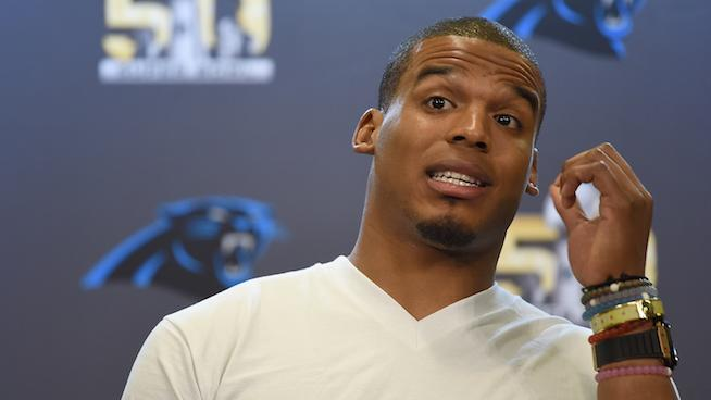 LOOK: Cam Newton Still Wears a Hospital Bracelet From His Car Accident as a Reminder