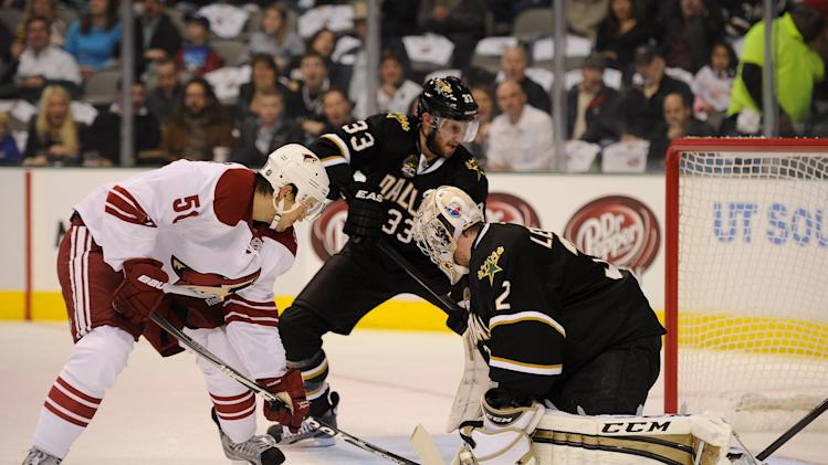 NHL: Phoenix Coyotes at Dallas Stars