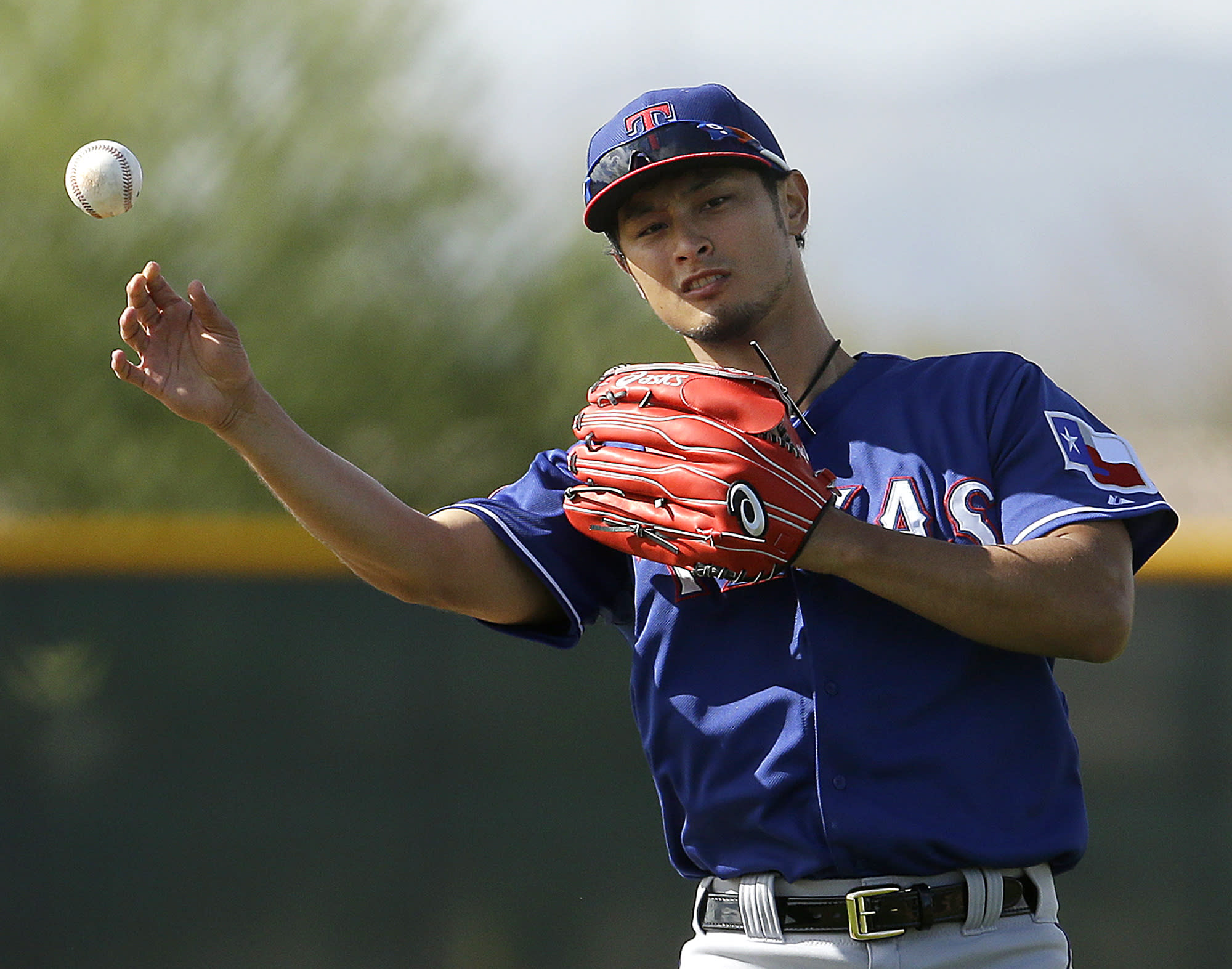 "Rangers Darvish: ""I didn't quit on team."""