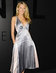 Blake Lively attends the celebration of CHANEL FINE JEWELRY'S 80th anniversary of the 'Bijoux De Diamants' collection created by Gabrielle Chanel in New York City on October 9, 2012  -- Getty Images