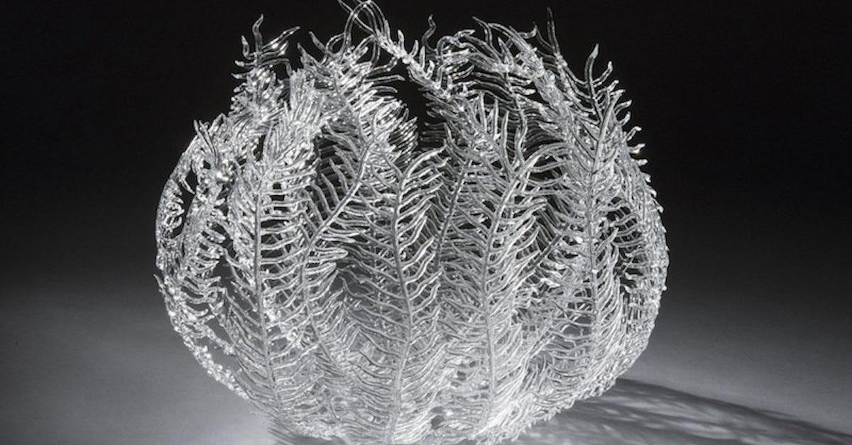 This Artist Mimics Sea Creatures With Glass
