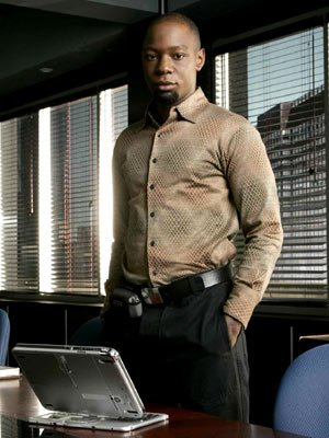 Nelsan Ellis as Agent Carter Howard FOX's The Inside