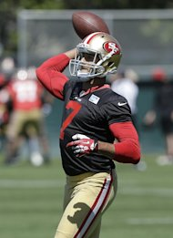49ers quarterback Colin Kaepernick (AP Photo/Jeff Chiu)