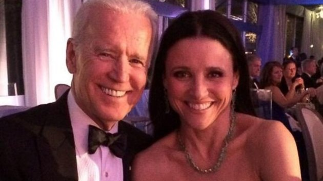 'Veep' Meets the VP: Julia Louis-Dreyfus as Joe Biden's Date (ABC News)